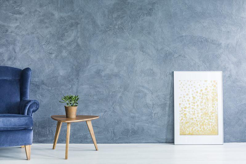 Pittura effetto grigio metallizzato al miglior prezzo. Pittura Sabbiata Come Funziona Questa Tecnica Decorativa Rivista Case