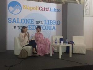 Chiara Francini al Salone del Libro di Napoli