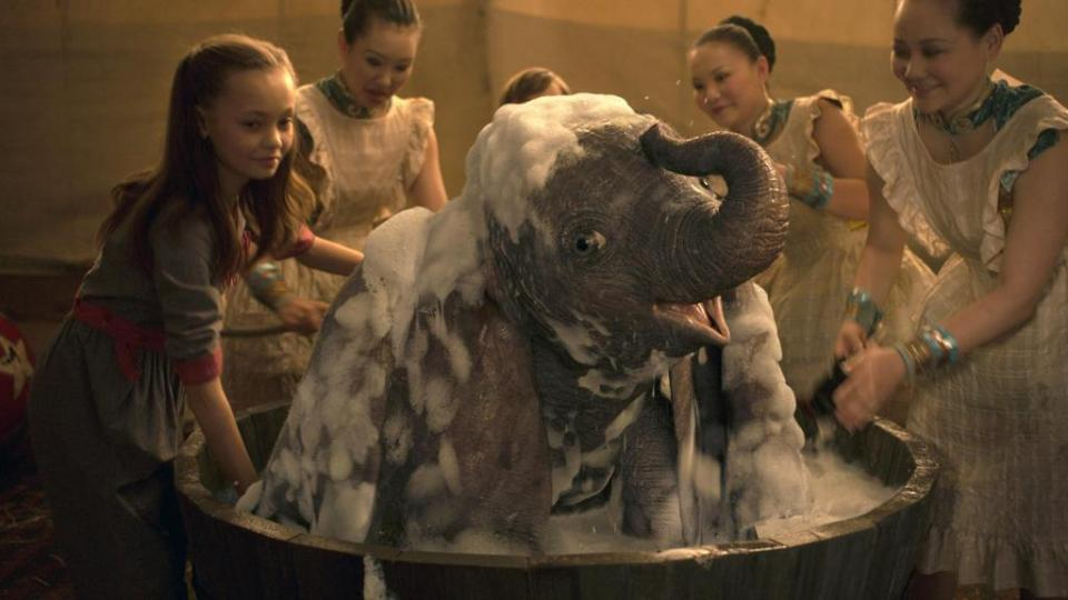 Dumbo di Tim Burton