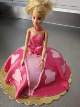 Torta Barbie. Pasticceria Siciliana.