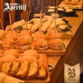 Aperitivo con buffet Foto di Brasserie3.14