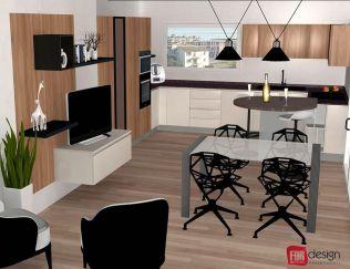 Visione 3D. Foto di For Design Arredamenti.