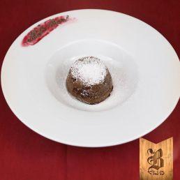 Tortino al cioccolato. Foto di Brasserie3.14