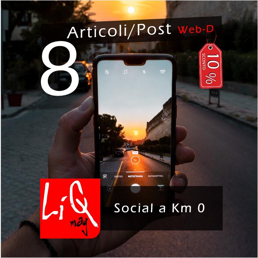 Pubblicazione 8 articoli