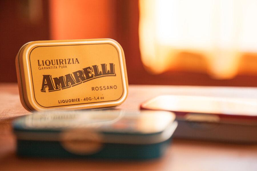confezioni in latta Amarelli
