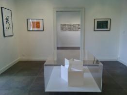opere allestite alla A 100 Gallery