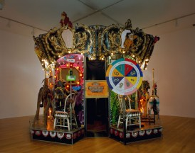 Edward & Nancy Reddin Kienholz The Merry-Go-World or Begat By Chance and the Wonder Horse Trigger, 1988-1992