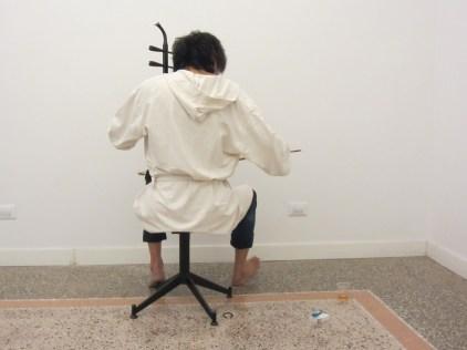 Wang Du, work in progress, Zoo Zone Art Forum, Roma, 2016