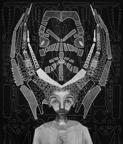 Barbara La Ragione, DE ARCHITECTURA#7, stampa ai sali d'argento da negativo b:w 35 mm - opera unica, 33x28 cm, 2016, Courtesy Sabrina Raffaghello Arte Contemporanea, Milano