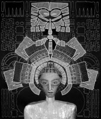 Barbara La Ragione, DE ARCHITECTURA#8, stampa ai sali d'argento b:w 35 mm - opera unica, 33x28 cm, 2016, Courtesy Sabrina Raffaghello Arte Contemporanea Milano