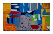 p. 053_ARTEFORTE_Forte Pozzacchio_Studio 53 Arte_Silvio Cattani_Nella culla di mio padre_2016_smalto su alluminio_90x150 cm