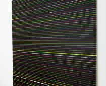 visione-laterale_black-monochrome_2016_acrylic-on-paper-tape-on-canvas-200x190-cm