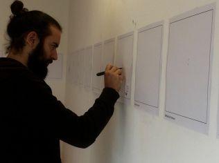 Dario Agrimi disegna la sua mappa per Isotta Bellomunno