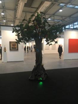 Piero Gilardi, Mango, 1992, Bonioni Arte, Reggio Emilia, ArtVerona 2016.
