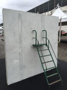 Stefano Scheda, Baby wall, 2016, ArtVerona 2016.