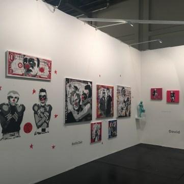 Galerie artfontainebleau, Fontaineblau, ART FAIR KOLN 2016