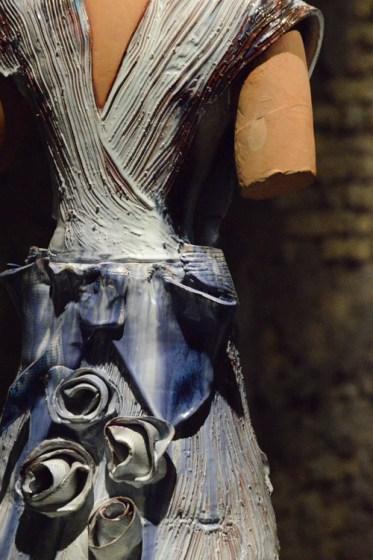 Giosetta Fioroni, Costume, ceramica, 2008