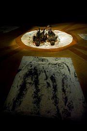 CENTRUM NATURAE, performance G.Gaggia, Mona Lisa Tina, foto di Alessandro Giampaoli