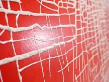 """Massimiliano Galliani, """"Le Strade Del Tempo"""" #4 2013 acrilico + polvere di marmo su tela, cm 90 x 150, particolare"""