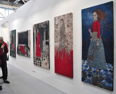 Carla Bedini, Ca' Di Fra', Milano. ArteFiera 2017