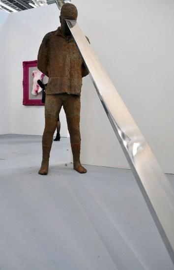 Paolo Grassino, Lavoro rende morte, 2008. Studio Vigato, Alessandria. ArteFiera 2017