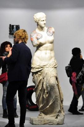 Fabio Viale, Galleria Poggiali, Firenze ArteFiera 2017