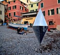 Matteo Negri, Navigator #Boccadasse, 2016, 15x22cm, stampa lambda su alluminio