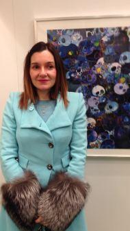 Alessia Marchi, curatrice di KIRAKIRÀ: lo scintillante mondo di Murakami Takashi, Bologna 2017