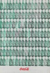 Andy Warhol, green coca cola bottles, 1962