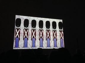 Proiezione alla Galleria Nazionale Roma