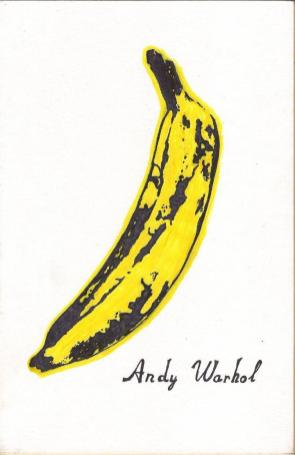 Andy Warhol, Banana, The Velvet Underground & Nico album, 1967