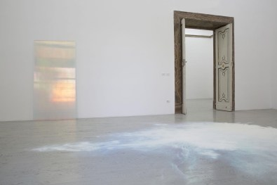 Ann Veronica Janssens, Partial view of the exhibition, April 2016, Galleria Alfonso Artiaco, Napoli