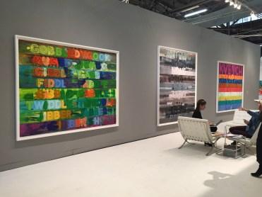 Mel Bochner, Chuckle, 2014 - Galleria Two Palms - New York.Ph Roberto Sala