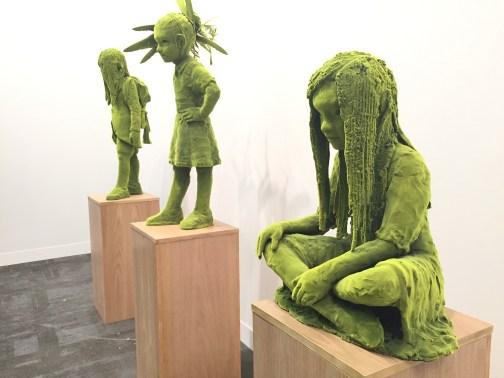 Kim Simonsson, Mossgirl, 2017 - Galerie Forsblom - Helsink. Ph Roberto Sala