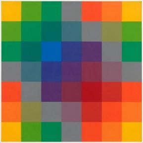 Paolo Minoli, Fase Singola, 1972, acrilici su tavola, cm. 70x70, foto Dario Lasagni (Copia)