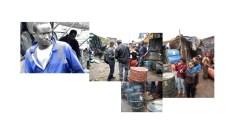 Gea Casolaro con Yacob Bizuneh, Makeda Bizuneh, Martha Haile, Meron Hailu, Yonas Hailu, Hilina Mekonen, Yafet Mekonnen, Sharing Gazes_Merkato #4, 2013, stampa fotografica