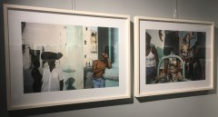 dalla mostra Alex Webb, Rebecca Norris Webb, Violet Isle, Spazio Fotografia San Zenone in collaborazione con Contrasto Galleria Milano