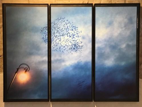 """dalla mostra Bruno Cattani, Mondi Interiori, in collaborazione con VisionQuesT Contemporary Photography © Bruno Cattani, Trittico #91, Serie """"Memorie"""", 2005-2015"""