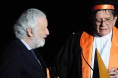 Bruno Corà e Ettore Spalletti