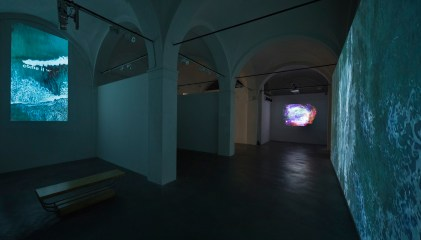 Sarah Ciracì, Like An Ocean With Its Waves..., 2017, video installazione. Foto Roberto Marossi (4)