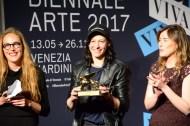 Susanne Pfeffer, Anne Imhof e la Ministra Boschi.