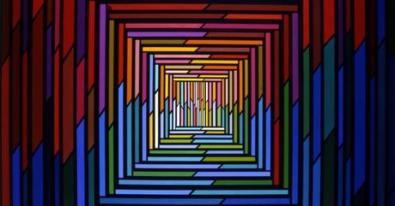 Visioni Geometriche, opere dalla collezione Macro
