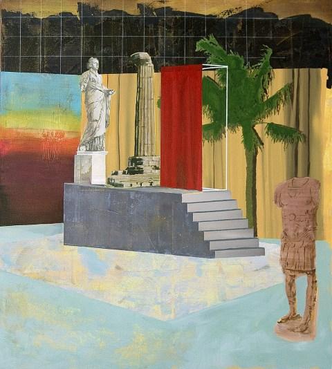 Paolo De Biasi, In nessun modo ancora, 2017, acrilico su tela, 100x90 cmjpg