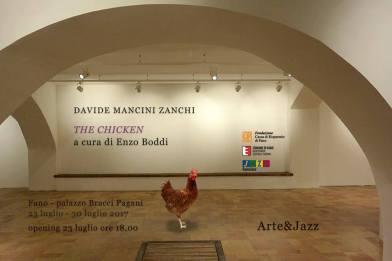 The Chicken, Palazzo Bracci Pagani, Fano