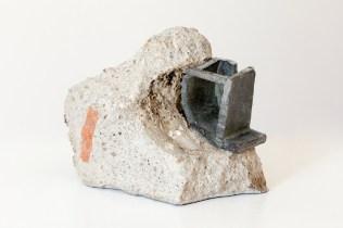 Gaetano Cunsolo, Ruins, 2017, 7x11x12cm, rubble and coated bronze