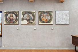 Flavio Favelli, White Crystal - Iconoclash - ArtVerona 2017