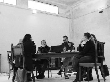 Transpolitica, T.Pers, D.Capra, G.Gaggia, I.Pers, M.L.Paiato, I. Pers, Ferrara OFF, 1:10:2017, ph Federica Zabarri