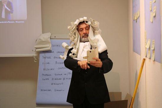 Alessandro Tagliati nei panni di Linneo