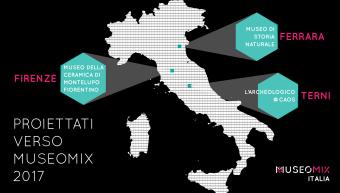 La seconda edizione, i musei italiani