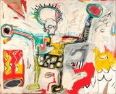 Jean-Michel Basquiat, Untitled 1982, Museum Boijmans Van Beuningen, Studio Tromp, Rotterdam © The Estate of Jean - Michel Basquiat, Licensed by Artestar, New York